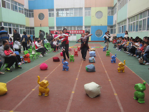 幼儿运动会_鹤壁市实验幼儿园_鹤壁市公立幼儿园_河南